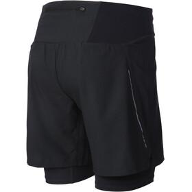 """inov-8 Trail 7"""" Pantalones cortos running Hombre, black/red"""